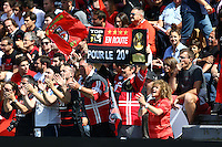 Supporters Toulouse - 30.05.2015 - Toulouse / Oyonnax - Barrages Top 14<br />