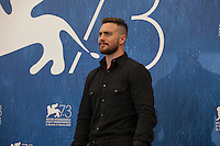 Aaron Taylor Johnson at Nocturnal Animals film photocall at the 73rd Venice Film Festival, Sala Grande on Friday September 2nd 2016, Venice Lido, Italy.