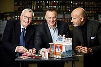 Panduro i Malmö. Fr v Jörgen Panduro, styrelseordförande, Thomas Panduro, marknadschef och Michael Forsmark, vd.