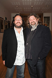 DAVE MYERS and SI KING collectively known as The Hairy Bikers at the annual Orion Publishing Group's Author party held in the Paul Hamlyn Hall, The Royal Opera House, Covent Garden, London on 22nd February 2010.