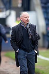 Raith Rovers manager John Hughes. halt time : Raith Rovers 0 v 0 Hibernian, Scottish Championship game played 18/2/2017 at Starks Park.