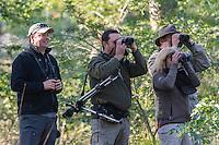 Birdwatchers within the Panda Miombo Woodlands, Panda, Inhambane Province, Mozambique