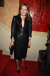 ZOE APPLEYARD-LEY at the engagement party of Vanessa Neumann and William Cash held at 16 Westbourne Terrace, London W2 on 15th April 2008.<br /><br />NON EXCLUSIVE - WORLD RIGHTS