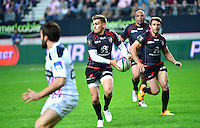 Toby FLOOD - 24.04.2015 - Stade Francais / Stade Toulousain - 23eme journee de Top 14<br />