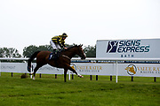 Derry Boy ridden by Richard Kingscote trained by David Evans wins the Follow At The Races on Twitter Handicap (Div 2) - Mandatory by-line: Robbie Stephenson/JMP - 13/08/2020 - HORSE RACING - Bath Racecourse - Bath, England - Bath Races