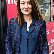 Nina from Bulgaria attend The Mayor of London, Sadiq Khan, launch a branded 'We are all Londoners' bus as it begins a four-day 'Advice Roadshow' around the capital. The bus will visit locations in areas with high numbers of European nationals, offering them guidance on how to apply for Settled to Status to remain in the UK following Brexit on 29 March 2019, London, UK.