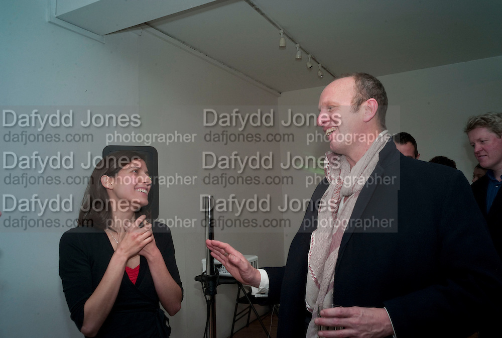 TERESA RODRIGUES; JOHNNIE SHAND KYDD, The  launch of Johnnie Shand Kydd's book Siren City. ( Photographs of Naples) Claire<br /> de Rouen books published  by Other Criteria. Charing Cross Rd. London. 30 November 2009