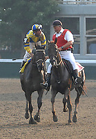 Street Sense and Calvin Borel on the way to the winners circle
