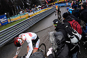 Belgium, Sunday 13th December 2015: Images from the elite men's race at the Hansgrohe Superprestige cyclocross races at Spa Francorchamps.<br /> <br /> Copyright 2015 Peter Horrell