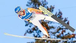 13.02.2016, Vikersundbakken, Vikkersund, NOR, FIS Weltcup Ski Sprung, Vikersund, Skifliegen, im Bild Maciej Kot (POL) // Maciej Kot of Poland during the Vikersund Ski Flying of FIS Ski Jumping Worldcup Cup at the Vikersundbakken in Vikkersund, Norway on 2016/02/13. EXPA Pictures © 2016, PhotoCredit: EXPA/ Tadeusz Mieczynski