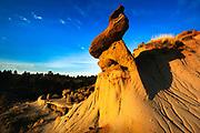 Makoshika State Park in Montana.