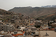 The Lebanese village El Fakha, in the Bekaa valley, on the border with Syria. This village is one of the 3 Sunni villages who welcomed  Syrian refugees.