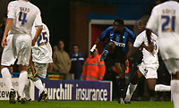 Picture by Daniel Hambury.<br /> 27/07/05.<br /> Crystal Palace v Inter Milan.<br /> Pre Season Friendly.<br /> Inter's Obafemi Martins scores the first goal.