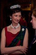 IONA DUCHESS OF ARGYLL, 2009 Royal Caledonian Ball in aid of various Scottish charities , Great Room, Grosvenor House. London. 1 May 2009.