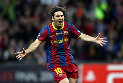 File photo dated 28-05-2011 of Barcelona's Lionel Messi