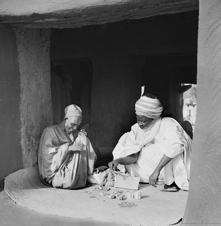 The Money Market, Kano, Nigeria, Africa, 1937