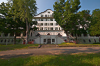 The Abandoned Hotel Adler in Sharon Springs NY New York.