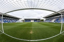 A general view of the stadium - Mandatory by-line: Arron Gent/JMP - 27/04/2019 - FOOTBALL - JobServe Community Stadium - Colchester, England - Colchester United v Milton Keynes Dons - Sky Bet League Two