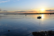 UK, February 4 2017:  Images from Leigh on Sea. Copyright 2017 Peter Horrell.