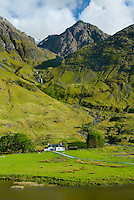 Farm house in Glen Coe Scotland