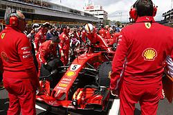 May 13, 2018 - Barcelona, Spain - Motorsports: FIA Formula One World Championship 2018, Grand Prix of Spain, ..#5 Sebastian Vettel (GER, Scuderia Ferrari) (Credit Image: © Hoch Zwei via ZUMA Wire)