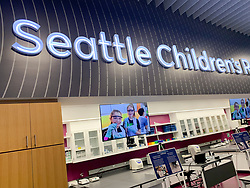United States, Washington, Seattle, The Cure Building, Seattle Children's, STEM education classroom and lab