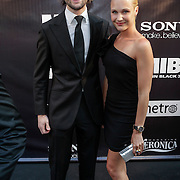 NLD/Amsterdam/20120522 - Premiere Men in Black 3, Bas Schothors en partner Kimberly Klaver