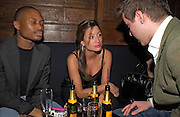 Kevin Landgon and Rebecca Loos, Tatler magazine Little Black Book party, Tramp. Jermyn St. 10 November 2004. ONE TIME USE ONLY - DO NOT ARCHIVE  © Copyright Photograph by Dafydd Jones 66 Stockwell Park Rd. London SW9 0DA Tel 020 7733 0108 www.dafjones.com