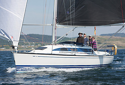 Sailing - SCOTLAND  - 25th May 2018<br /> <br /> Opening days racing the Scottish Series 2018, organised by the  Clyde Cruising Club, with racing on Loch Fyne from 25th-28th May 2018<br /> <br /> GBR6917T, Celtic Spirit, Brian Robertson, CCC, X332<br /> <br /> Credit : Marc Turner<br /> <br /> Event is supported by Helly Hansen, Luddon, Silvers Marine, Tunnocks, Hempel and Argyll & Bute Council along with Bowmore, The Botanist and The Botanist