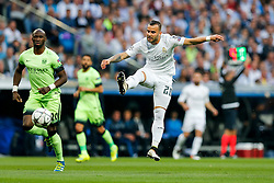 Jese of Real Madrid plays the ball - Mandatory byline: Rogan Thomson/JMP - 04/05/2016 - FOOTBALL - Santiago Bernabeu Stadium - Madrid, Spain - Real Madrid v Manchester City - UEFA Champions League Semi Finals: Second Leg.