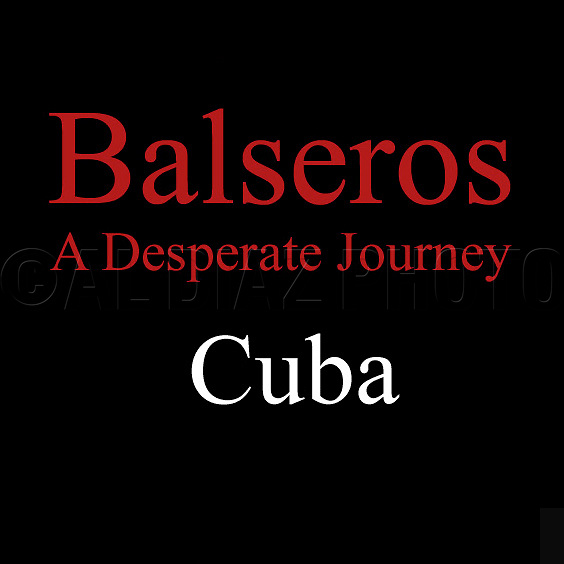 Between August 5 and September 13, 1994, more that 37,000 Cubans rode the Gulf Stream on a desperate journey to a new life in the United States. No corner of Cuba was untouched by the exodus.: Havana, Oriente, Matanzas. Out on the water, the rafters were subjected to pounding heat, 12-foot waves, and sharks. Most of these photographs were taken during August 1994 in Cojimar, on the east side of Havana.