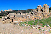 Amphitheatre at Baelo Claudia Roman site, Cadiz province, Spain