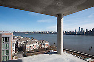 Penthouse View From Nine on the Hudson, West New York, NJ