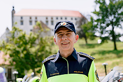 Matjaz Leskovar, chief of police escort, during 1st Stage of 27th Tour of Slovenia 2021 cycling race between Ptuj and Rogaska Slatina (151,5 km), on June 9, 2021 in Slovenia. Photo by Matic Klansek Velej / Sportida