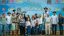 Final do Freio de Ouro durante a 39º Expointer - Exposição Internacional de Animais, Máquinas, Implementos e Produtos Agropecuários. A maior feira a céu aberto da América Latina,  promovida pela Secretaria de Agricultura e Pecuária do Governo do Rio Grande do Sul, ocorre no Parque de Exposições Assis Brasil, entre 27 de agosto e 04 de setembro de 2016 e reúne as últimas novidades da tecnologia agropecuária e agroindustrial. FOTO: Itamar Aguiar/ Agência Preview