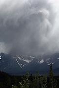 Stormy Skies near Jasper, Alberta, Canada