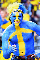 Tifosi Svezia Fans Sweden <br /> Toulouse 17-06-2016 Stade de Toulouse <br /> Football Euro2016 Italy - Sweden / Italia - Svezia Group Stage Group E<br /> Foto Massimo Insabato / Insidefoto