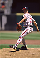 SAN FRANCISCO - 1995: Greg Maddux of the Atlanta Braves pitches during an MLB game versus the San Francisco Giants at Candlestick Park in San Francisco, California during the 1995 season. (Photo by Ron Vesely) Subject:   Greg MAddux