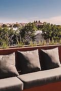 View from rooftop pool at Vitoria Stone Hotel, Rua Diana de Lis 5, Evora > vitoriastonehotel.com