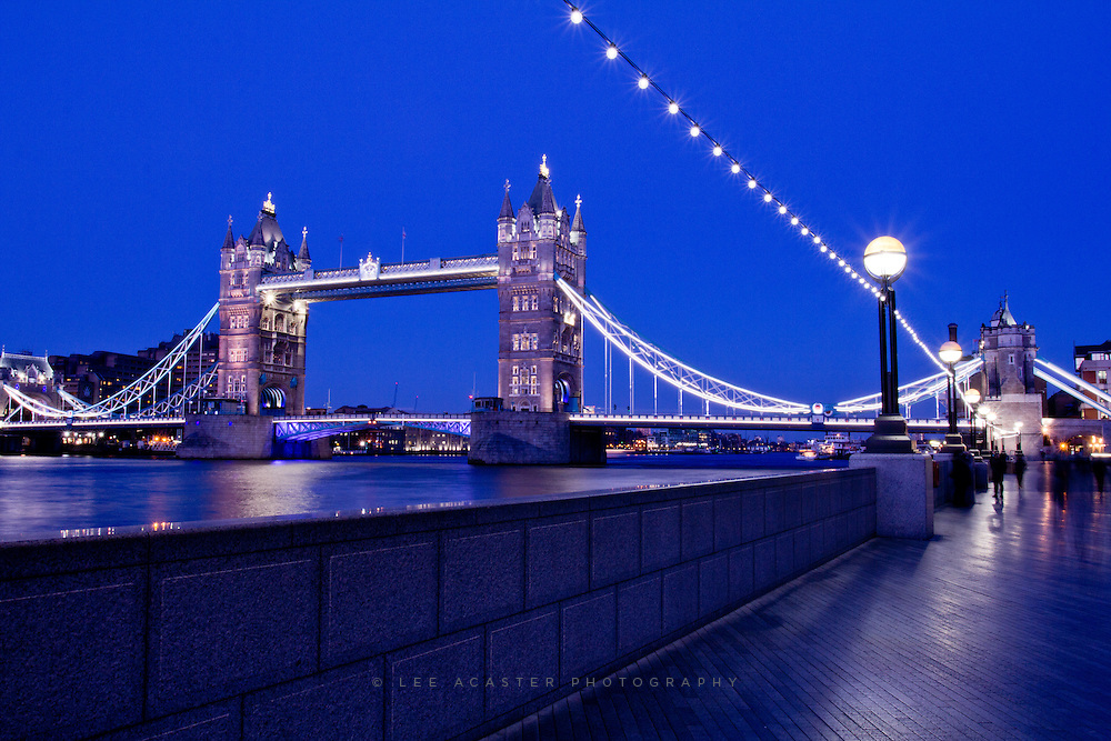 Tower Bridge in the blue hour, another from my night photography evening a few weeks ago.