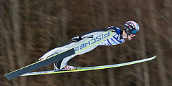 05.02.2011, Heini Klopfer Skiflugschanze, Oberstdorf, GER, FIS World Cup, Ski Jumping, 1. Wertungsdurchgang, im Bild Roman Koudelka (CZE) , during ski jump at the ski jumping world cup in Oberstdorf, Germany on 05/02/2011, EXPA Pictures © 2011, PhotoCredit: EXPA/ P. Rinderer