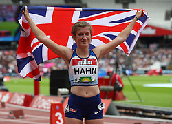 July 22, 2018 - London, United Kingdom - Sophie Hann of Great Britain and Northern Ireland  winner of the T37/38 200m Women.during the Muller Anniversary Games IAAF Diamond League Day Two at The London Stadium on July 22, 2018 in London, England. (Credit Image: © Action Foto Sport/NurPhoto via ZUMA Press)
