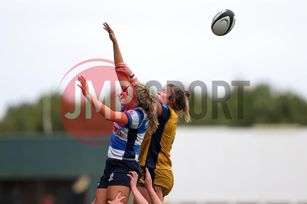 Amelia Buckland Hurry of Bristol Ladies - Rogan Thomson/JMP - 08/10/2016 - RUGBY UNION - Kingston Park - Newcastle, England - Darlington Mowden Park Sharks v Bristol Ladies Rugby - RFU Women's Premiership.