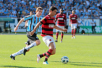20111030: PORTO ALEGRE, BRAZIL - Football match between Gremio and  Flamengo teams held at the Sao januario. In picture Thiago Neves<br />