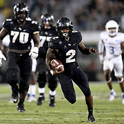 FL - OCTOBER 03:  Otis Anderson #2 of the Central Florida Knights runs for a touchdown against the Tulsa Golden Hurricane at Bright House Networks Stadium on October 3, 2020 in Orlando, Florida. (Photo by Alex Menendez/Getty Images) *** Local Caption *** Otis Anderson