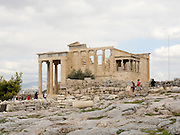 Erechtheion, Acropolis, Athens, Greece, UNESCO word heritage site