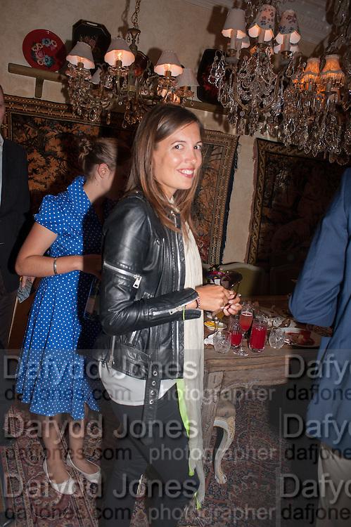 AMANDA FERRY, Afternoon tea to  celebrate the addition of the Naked Heart Dessert to Russian restaurant Mari Vanna's menu,  Mari Vanna, 116 Knightsbridge, London, SW1X 7PJ. August 29 2012.