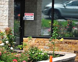 Security cameras at the entrance to Fetullah Gulen's Pocono Mountain compound Saturday, July 16th, 2016 in Saylorsburg, Pennsylvania.