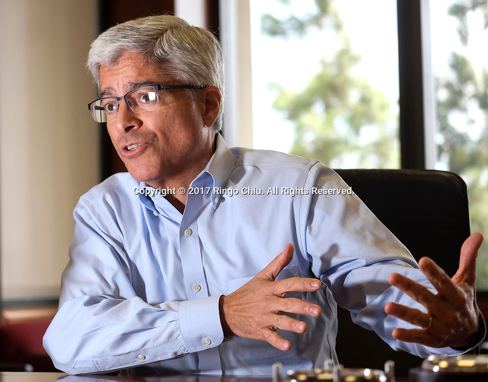 Pedro Pizarro, new CEO of Edison International, parent company of Southern California Edison.(Photo by Ringo Chiu)<br /> <br /> Usage Notes: This content is intended for editorial use only. For other uses, additional clearances may be required.