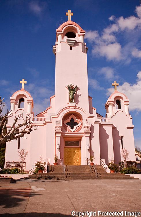 Old San Rafael Mission in Marin County